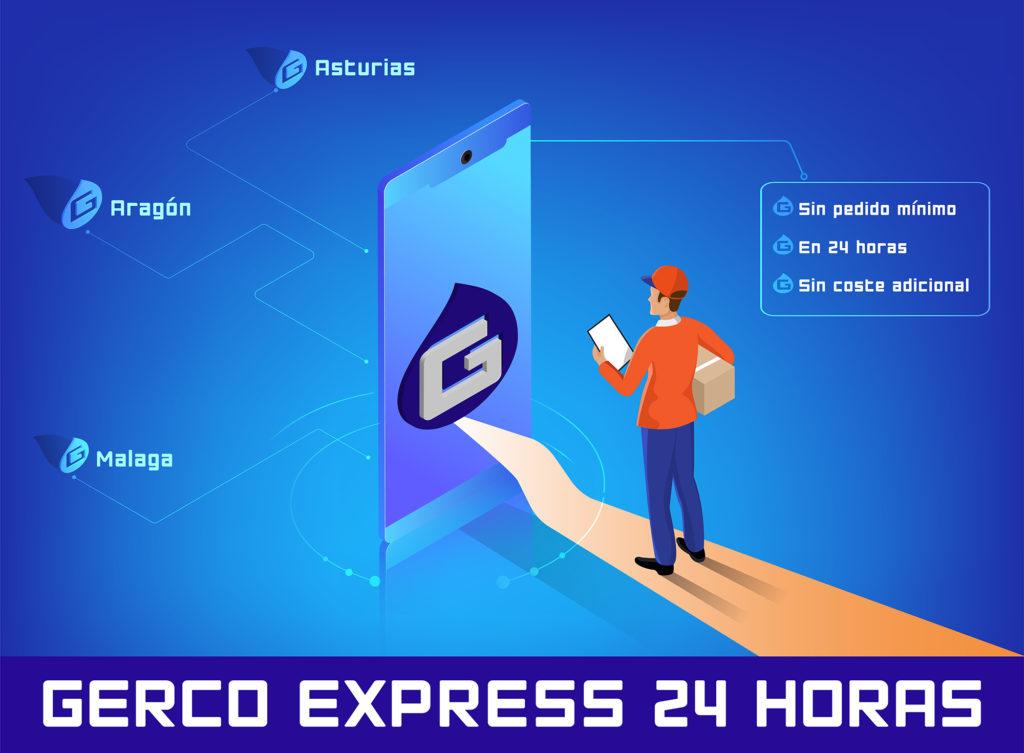 infografía gerco express 24 horas