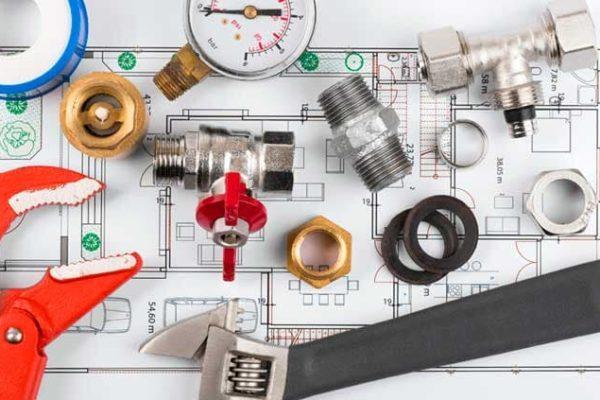 Suministros de material para instalaciones de gas y fontanería