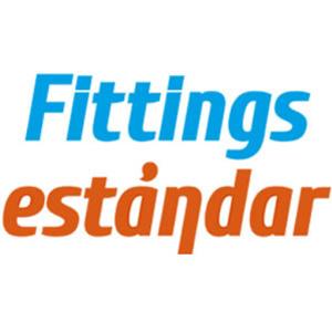 logo fittings estándar