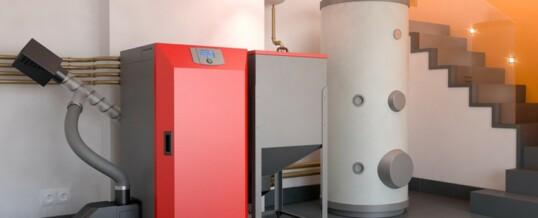 Calefacción de biomasa