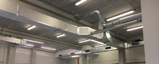 Instalación de aire acondicionado por conducto